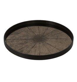 Ethnicraft USA LLC Large Bronze Slice Mirror Tray