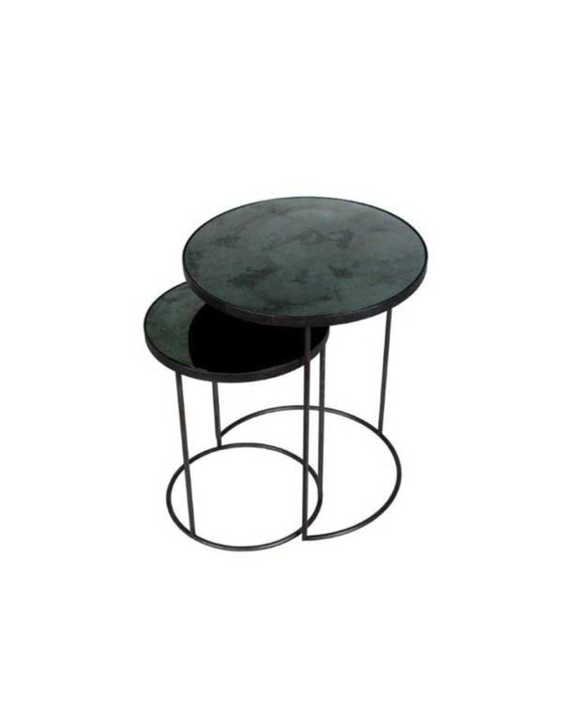 Ethnicraft USA LLC Sharcrol Nesting Side Tables, Set of 2
