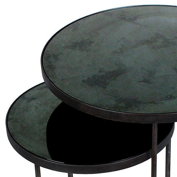 Sharcrol Nesting Side Tables, Set of 2
