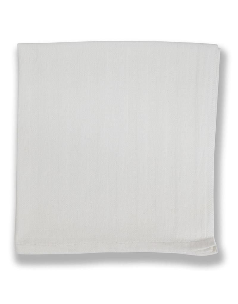 Couleur Nature Cotton Napkins Everyday White , Set of 4