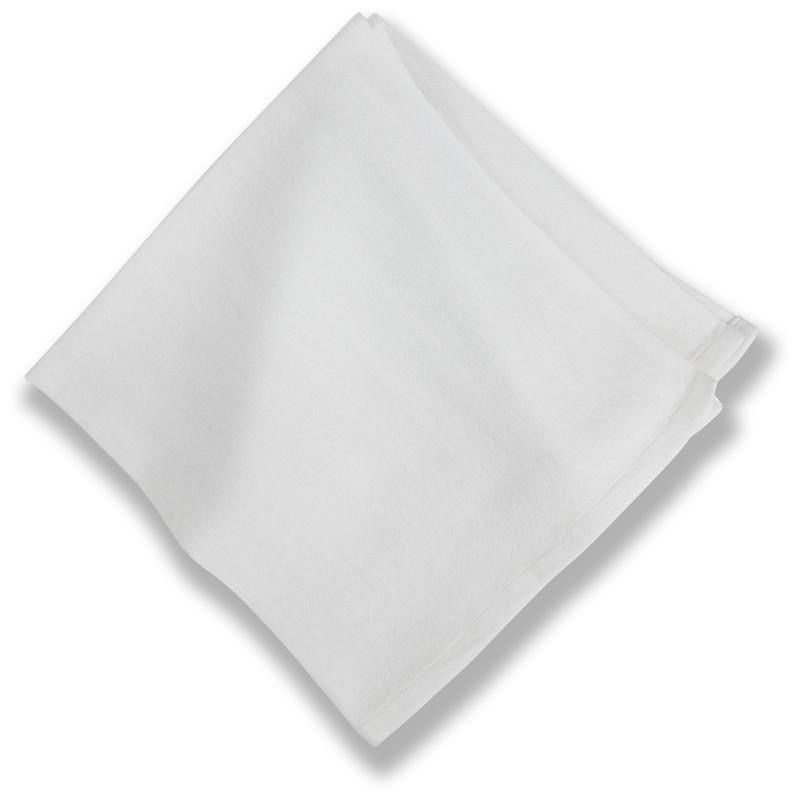 Cotton Napkins Everyday White , Set of 4
