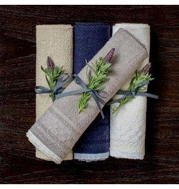 Couleur Nature Hotel Dobby Indigo Towel