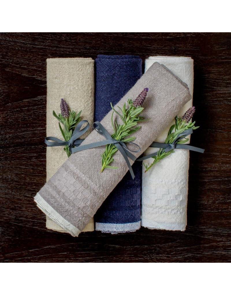 Couleur Nature Hotel Dobby Indigo Towel