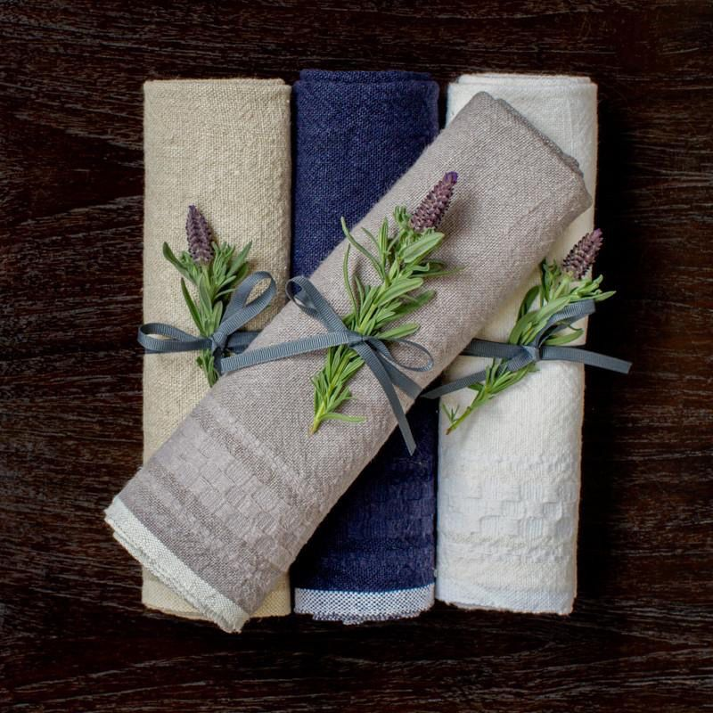 Hotel Dobby Indigo Towel