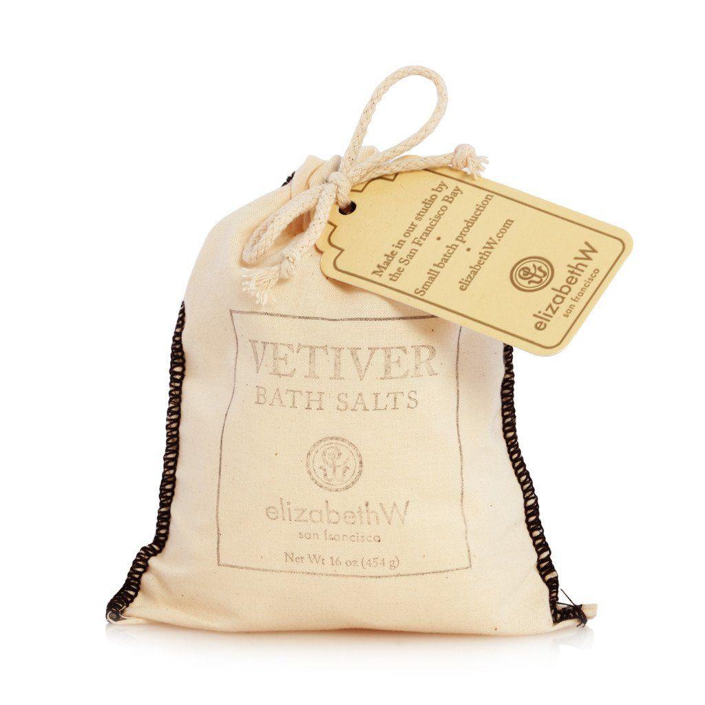 Vetiver Bath Salts, Bag