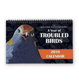 Mincing Mockingbird Year of Troubled Birds 2018 Calendar