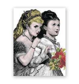 Lesbian Wedding Congrats Card