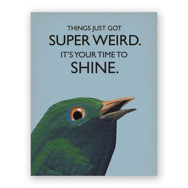 Weird Card