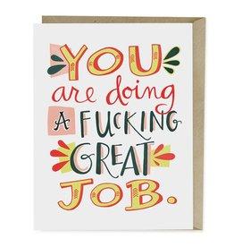 Emily McDowell Studio F**king Great Job Card