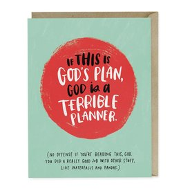Emily McDowell Studio God's Plan Empathy Card