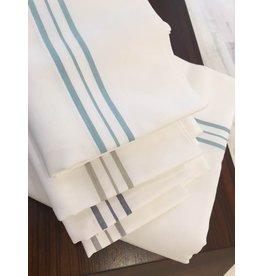 Ann Gish Hem Stripe Sheet Set