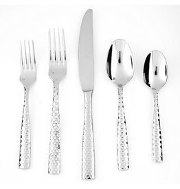 Lucca Faceted 5-Piece Place Setting