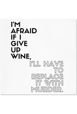 Wine Murder Napkins