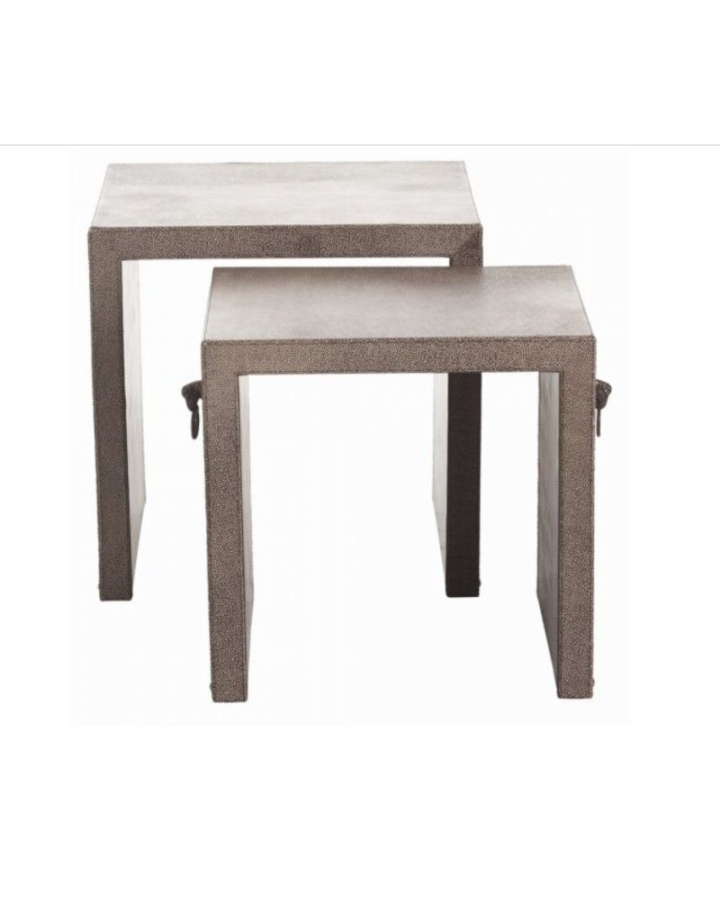 Arteriors Equus Nesting Side Tables, Set of 2
