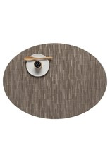 Chilewich Bamboo Oval Table Mat 14x19.25 DUNE