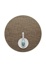 Chilewich Bamboo Table Mat 15 Round AMBER