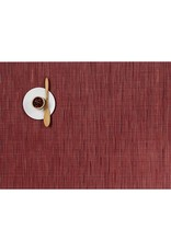 Chilewich Bamboo Table Mat 14x19 CRANBERRY