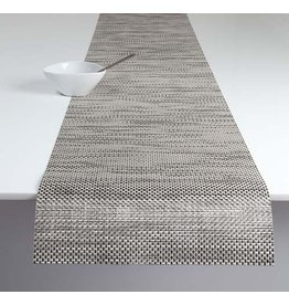 Chilewich Basketweave Table Runner 14x72 OYSTER