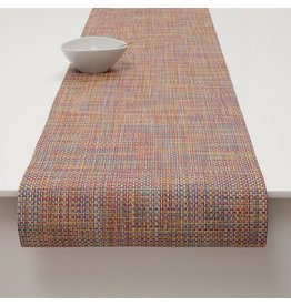 Chilewich Basketweave Table Runner 14x72 CRAYON
