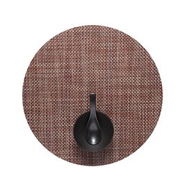 Chilewich Basketweave Table Mat 15 Round TERRA