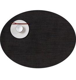 Chilewich MiniBasket Oval Table Mat 14x19.25 ESPRESSO