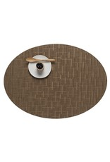 Chilewich Bamboo Oval Table Mat 14x19.25 AMBER