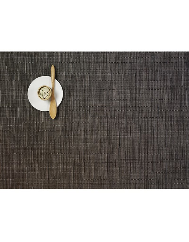 Chilewich Bamboo Table Mat 14x19 CHOCOLATE