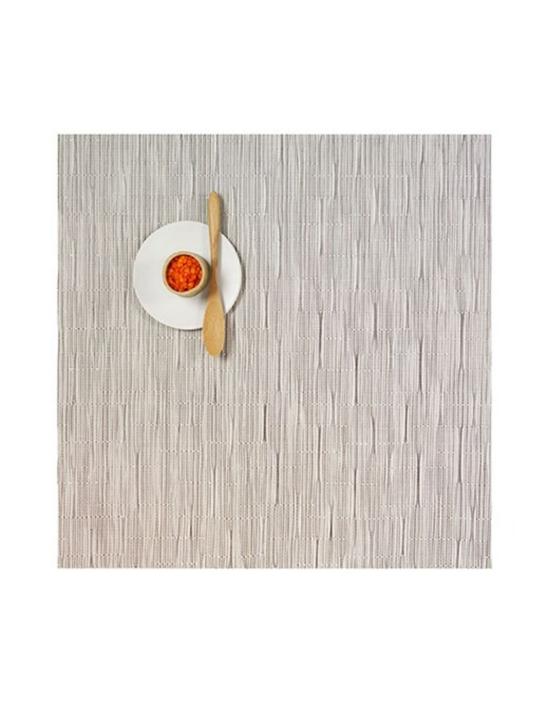 Chilewich Bamboo Table Mat 13x14 CHALK