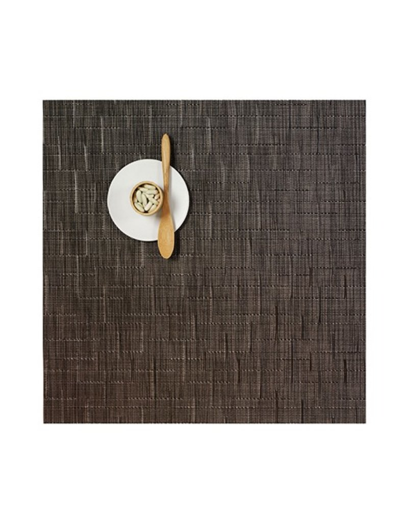 Chilewich Bamboo Table Mat 13x14 CHOCOLATE