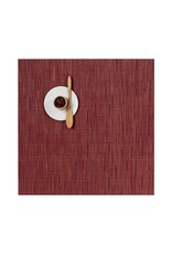 Chilewich Bamboo Table Mat 13x14 CRANBERRY