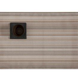 Chilewich Multi Stripe Mat 14x19 CHAMPAGNE
