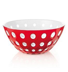 Le Murrine Bowl - Red/White/Transparent