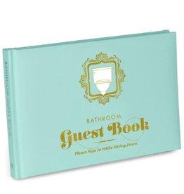 Knock Knock Bathroom Guest Book