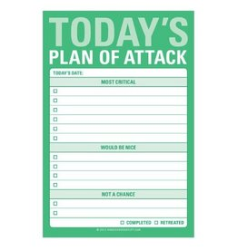 Knock Knock Today's Plan of Attack Great Big Sticky Notes