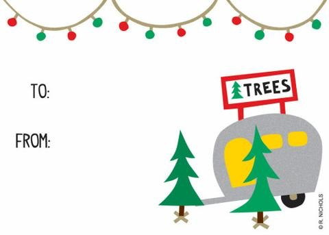 Tree Lot Gift Tags