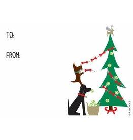 R. Nichols Doggie Decorators Gift Tags