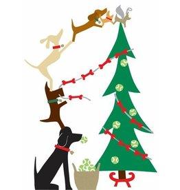 R. Nichols Doggie Decorators Holiday Cards, Box of 10