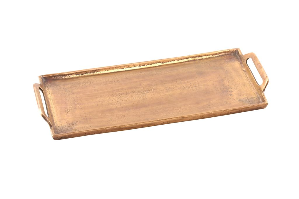 Small Tray in Antique Brass
