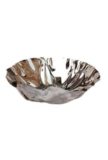 BIDK Home Polished Stainless Steel Fruit Bowl