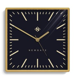 Underpass Clock, Brushed Brass
