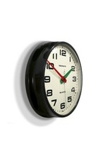 The Brixton Clock- Black- Sweep