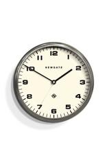Newgate Chrysler Clock, Burnished Steel