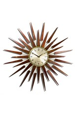 The Pluto Starburst Clock- Gold
