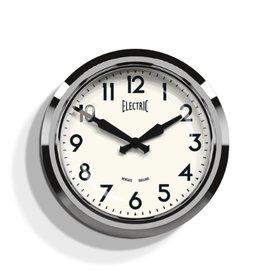 Newgate 50's Electric Clock, Chrome
