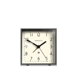 Cubic Alarm Clock, Gravity Gray