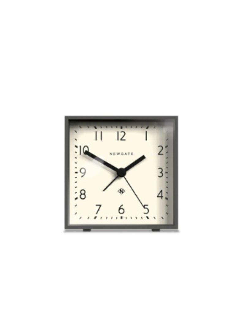 Newgate Cubic Alarm Clock, Gravty Gray
