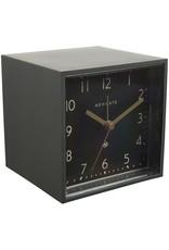 Cubic Alarm Clock, Gravity Gray, Reverse Dial
