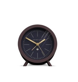 Fred Alarm Clock, Chocolate Black, Reverse Dial