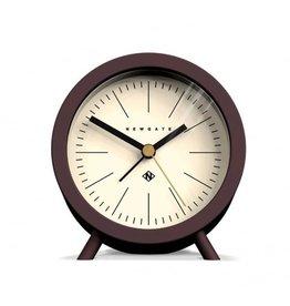 Newgate Fred Alarm Clock, Chocolate Black