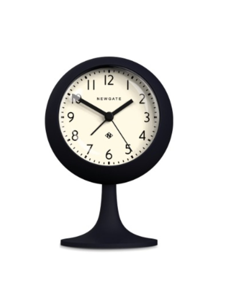 Newgate Dome Alarm Clock, Petrol Blue